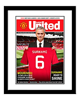 Personalised New Signing Magazine Cover