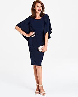 Gina Bacconi Kimono Sleeve Shift Dress