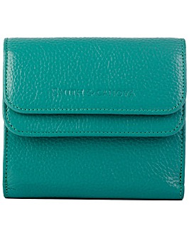 Smith & Canova Genuine Leather Square Card Holder