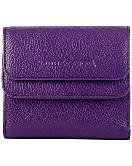 Smith & Canova Genuine Leather Square Card Holder