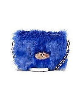 Claudia Canova Single Strap Faux Fur