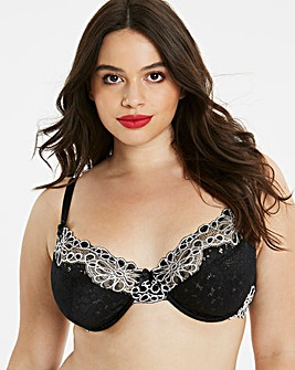 Evie Underwired Padded Plunge Bra