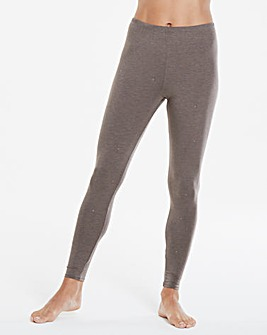 Naturally Close Thermal Grey Marl/Silver Sparkle Leggings