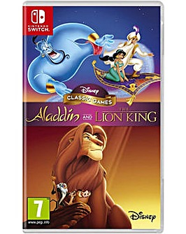 Disney Classic Games Aladdin Lion King