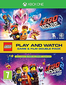 The LEGO Movie 2 Game and Film Twin Pack