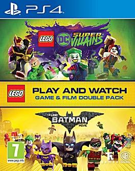 LEGO DC Super villains Game and FilmPack