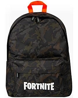 Fortnite Camouflage Backpack Dark Green