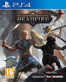 Pillars of Eternity II Deadfire PS4