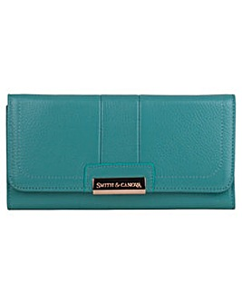 Smith & Canova Genuine Leather Flap Over