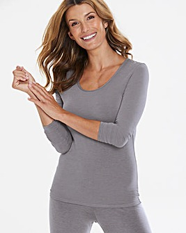 Heatgen Long Sleeve Grey Top