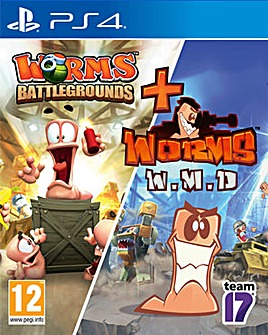 Worms Battleground and Worms W.M.D