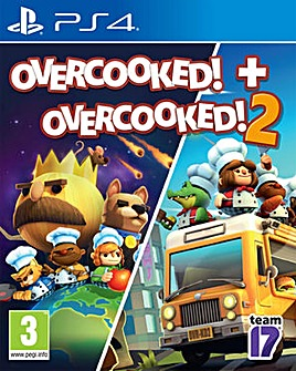 Overcooked 1 and Overcooked 2 PS4