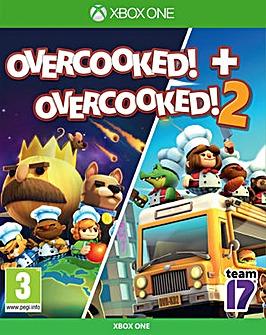 Overcooked 1 and Overcooked 2 Xbox One
