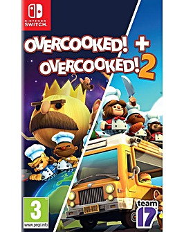 Overcooked 1 and Overcooked 2 Switch