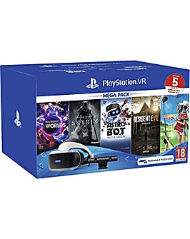 Playstation VR Mega Pack Inc 5 Games