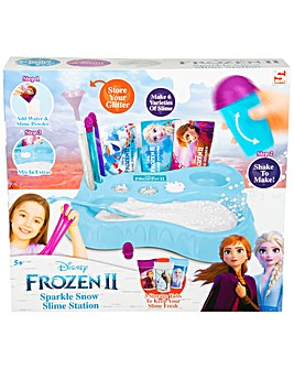 Disney Frozen 2 Snow Slime Station Set Contains Glitter And Confetti Packs