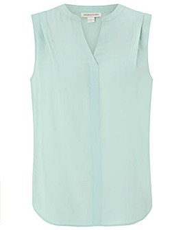 Monsoon Polly Sleeveless Blouse