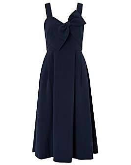 Monsoon Alexa Bow Fit&Flare Dress