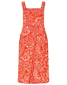 Monsoon Misty Ecovero Print Midi Dress