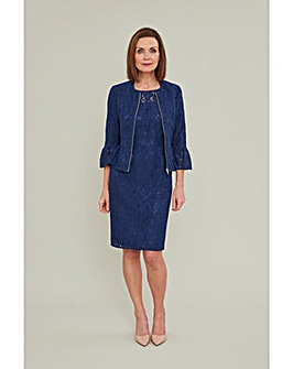 Gina Bacconi Mariana Dress And Jacket