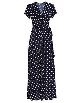 Gina Bacconi Luciana Spot Maxi Dress