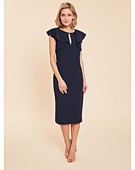 Gina Bacconi Enora Crepe Dress