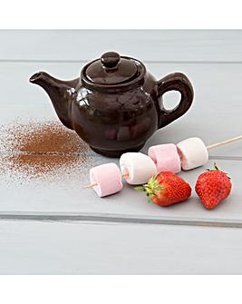 Schokolat Chocolate Fondue Teapot