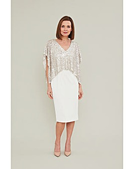 Gina Bacconi Areti Dress And Overtop