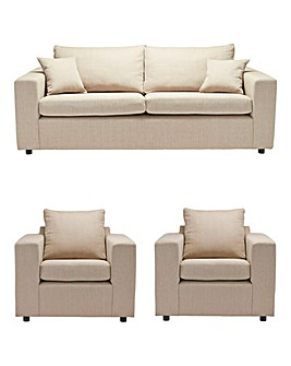 Alicante 3 Seater Sofa plus 2 Chairs