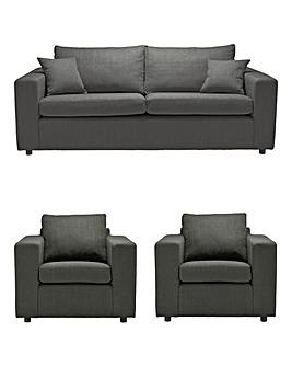 Alicante 3 Seater Sofa plus 2 Chairs