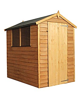 Mercia 6 x 4 Overlap Apex Shed