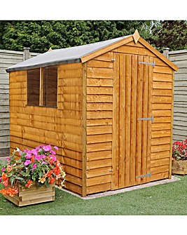 Mercia 8x6 Budget Overlap Apex Shed