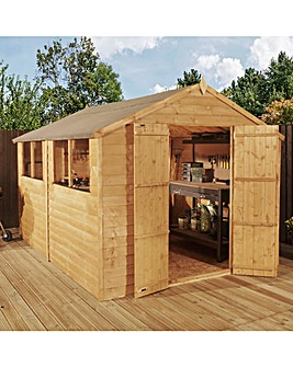 Mercia 10x8 Overlap Apex Shed