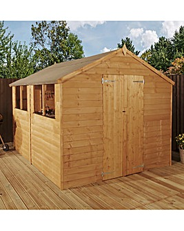 Mercia 10 x 8 Overlap Apex Shed