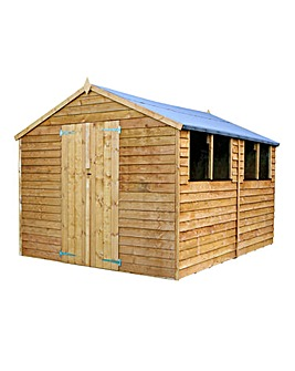 Mercia 12 x 8 Overlap Apex Shed