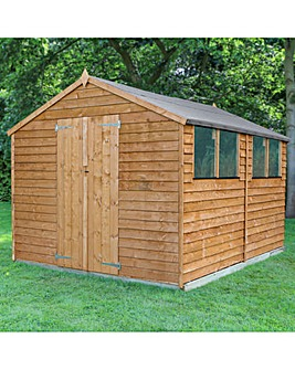 Mercia 12x8 Overlap Apex Shed