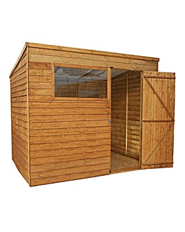 Mercia 8 x 6 Overlap Pent Shed