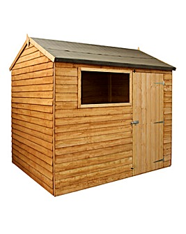 Mercia 8 x 6 Overlap Reverse Apex Shed