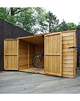 Mercia 4 x 6 Overlap Pent Bike Store