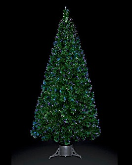 Fibre Optic Green Tree