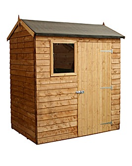 Mercia 6 x 4 Overlap Reverse Apex Shed