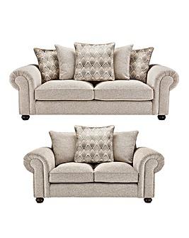 Aurora 3 plus 2 Seater Sofa