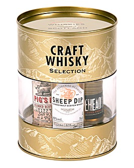 Craft Whisky Triple Tin