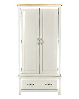 Harrogate Two-Tone 2-Door Wardrobe