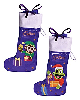 Twin Pack Cadbury Filled Stockings
