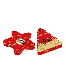 Guylian Twin Pack Star & Christmas Tree