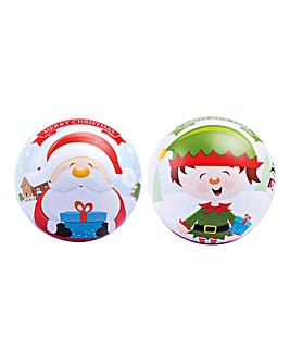 Twin Pack Chocolate Filled Baubles