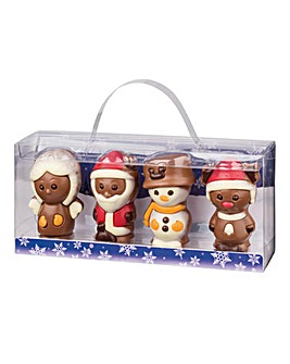 Christmas Chocolate Figures