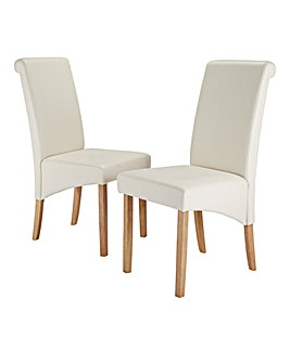 Siena Faux Leather Dining Chairs