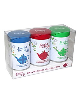 English Tea Shop Loose Leaf Tins Set